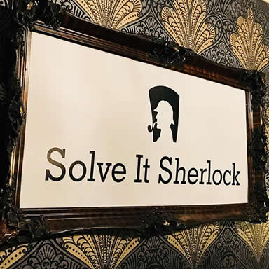Solve It Sherlock Sign