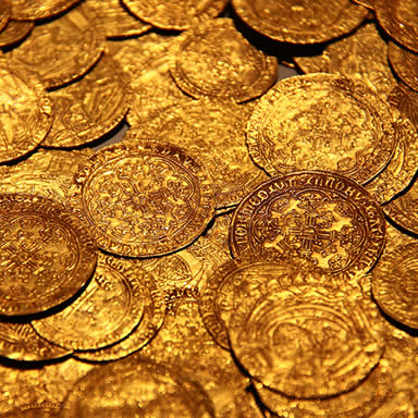 Pirate Escape Room Gold Coins